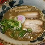ラーメン考房 昭和呈 - 鯖らーめん 醤油