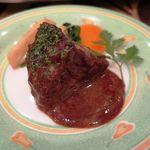 洋食屋 ぷてぃ あう゛ぃにょん - 頬肉のビーフシチュー