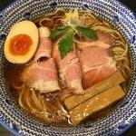 麺 昌まさ - 【限定】冷やし煮干し中華そば