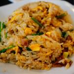 羊香味坊 - ラム肉とパクチーの炒飯