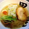 黒船 - 料理写真:秋刀魚だしらーめん塩700円