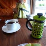 ケヤキコーヒー - フレンチプレスのコーヒー
