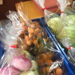ラ・セーヌ - 朝取り野菜