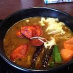 CoCo壱番屋 - 料理写真:タンドリー風チキンの野菜カレー