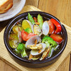 アサリと夏野菜のアヒージョ