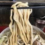 蓮爾 - 【2017.6.10】加水率低めのワシワシ極太麺。