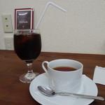 あめんどろや イモ カフェ - セットドリンク