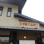 伊藤久右衛門 - 入り口