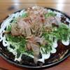 すいーとぴー - 料理写真:豚、烏賊、チーズイン@1,060