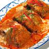 白身魚のレッドカレー炒め