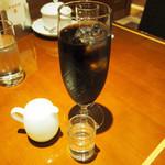 珈琲茶館 集 - ワッフルセット