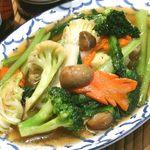 彩り野菜のオイスター炒め
