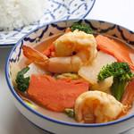 タイの田舎風辛酸っぱいスープカレー