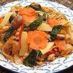 辛口太麺焼きビーフン