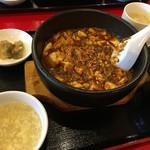 68809549 - ランチの麻婆豆腐定食