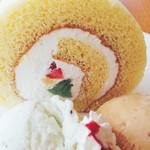 ジェラテリア ピッコ - ロールケーキアップ