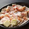 お好み焼き 道とん堀 - 料理写真:もち豚の鉄板焼き