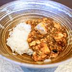 KUROMORI - 料理写真:麻婆豆腐