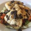 ビストロ ラパンドール - 料理写真:Cランチ″お魚ランチ¥1300″のメイン。 スズキのポアレ、南仏風。