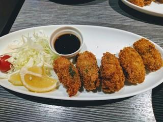 gigas Oyster Spot Bar 高田馬場店 - 牡蠣フライ(ランチ)