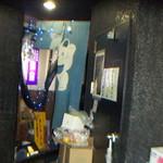 地鶏亭 - 店入口