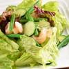 エビのグリーンサラダ