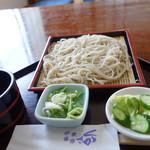 四季味亭くさか - 料理写真:ざるそば(\735税込み)