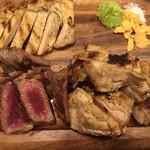 大衆肉バル 7+3 - 牛、豚、鶏全部食い