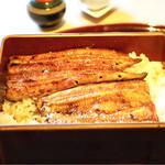 鰻割烹まえはら - 大井川産の共水鰻