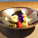 Cucina Italiana 東洞 - ラベンダーとパッションフルーツのジェラート