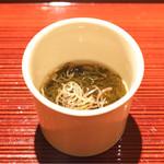 祇園 又吉 - 福井の岩モズク