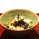 祇園 又吉 - 明石の天然鯛を使った鯛茶漬け