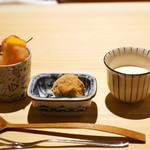 祇園 又吉 - デザート3種