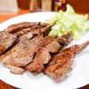 牛たん料理 閣 - 料理写真:長細切り厚め牛タン