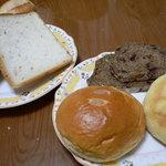 きんのすゞ - 玄米食パン、クリームパン、メロンパンなど