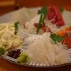 ととや - 料理写真:お刺身盛り合わせ(まぐろ・いか・たこ・ひらめ・サーモン・ゆば)