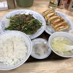 68821109 - 【2017.6.15】肉細切りピーマンセット¥850