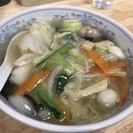 68821111 - 【2017.6.15】八宝菜麺¥590