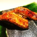 六本木 大友 - 鰻寿司山椒炊き込みご飯