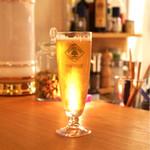 Lilou  - 生ビール(ハートランド)