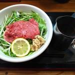 松阪牛麺 - 松阪牛麺肉盛り