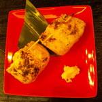 甲殻類倶楽部 - おやじの揚げ納豆・250円