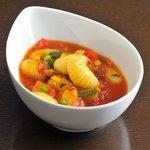 餉餉 - 春野菜とトマトのニョッキ
