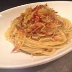 ミシマ テラス - 大人気!桜海老とキャベツのオイルベース スパゲッティ