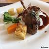 North 40-40 - 料理写真:仔羊のローストに季節の野菜添え
