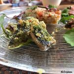 68836612 - 秋刀魚』のハーブパン粉焼、活蛸のマリネ