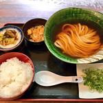瀬戸内製麺710 - ひやかけ&卵かけご飯セット