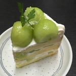 68837745 - 完熟メロンのショートケーキ