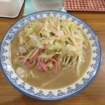井手ちゃんぽん - ちゃんぽん麺野菜大盛