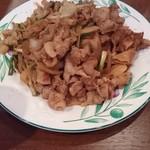 ジ シクレ バーベキュー - 豚肉焼き